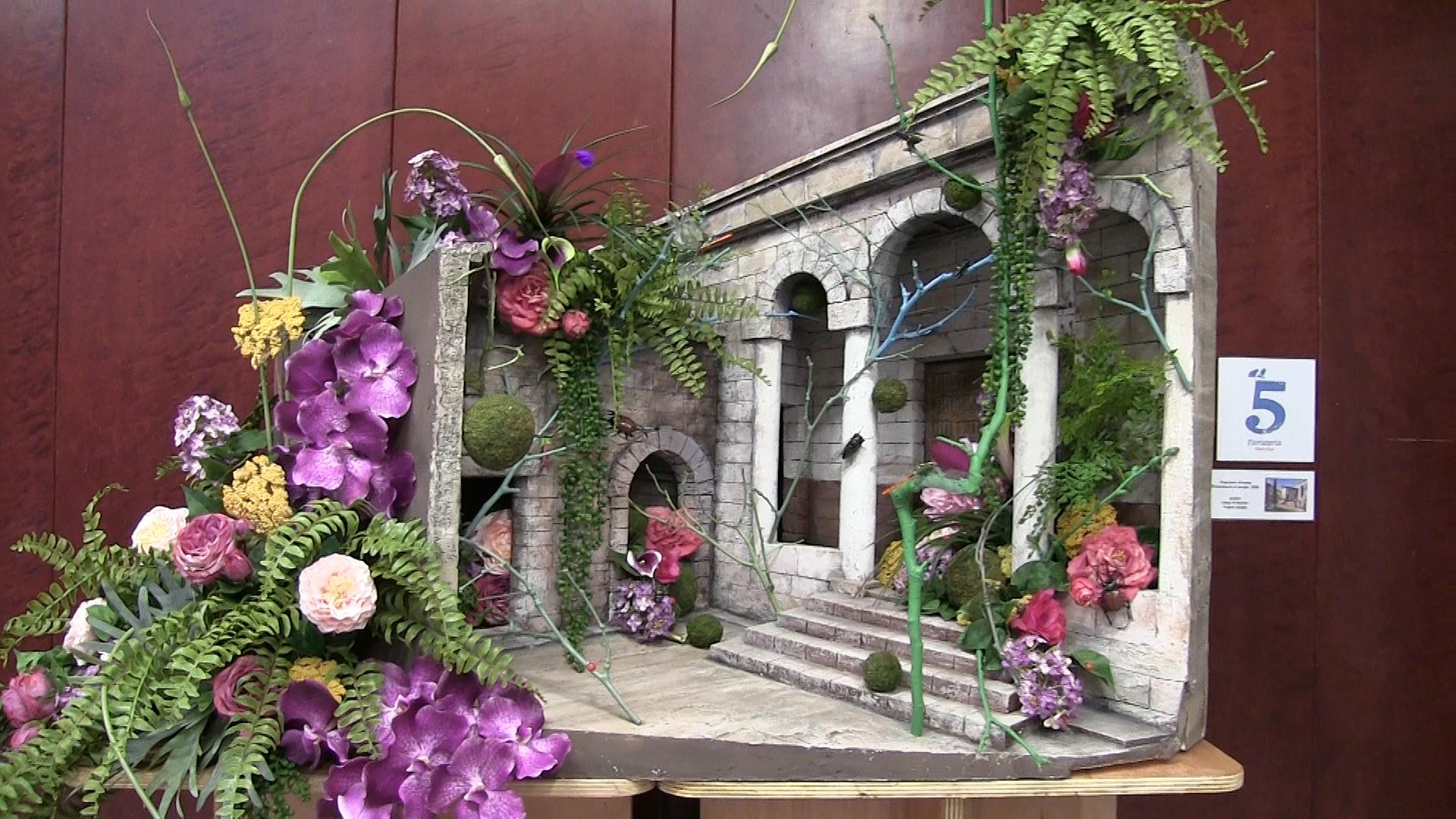 Exposición «Flors i Pessebres»