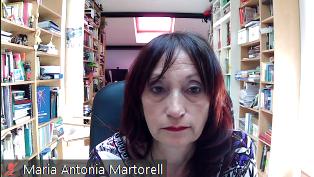 Maria Antonia Martorell presideix l'assemblea de la FEB